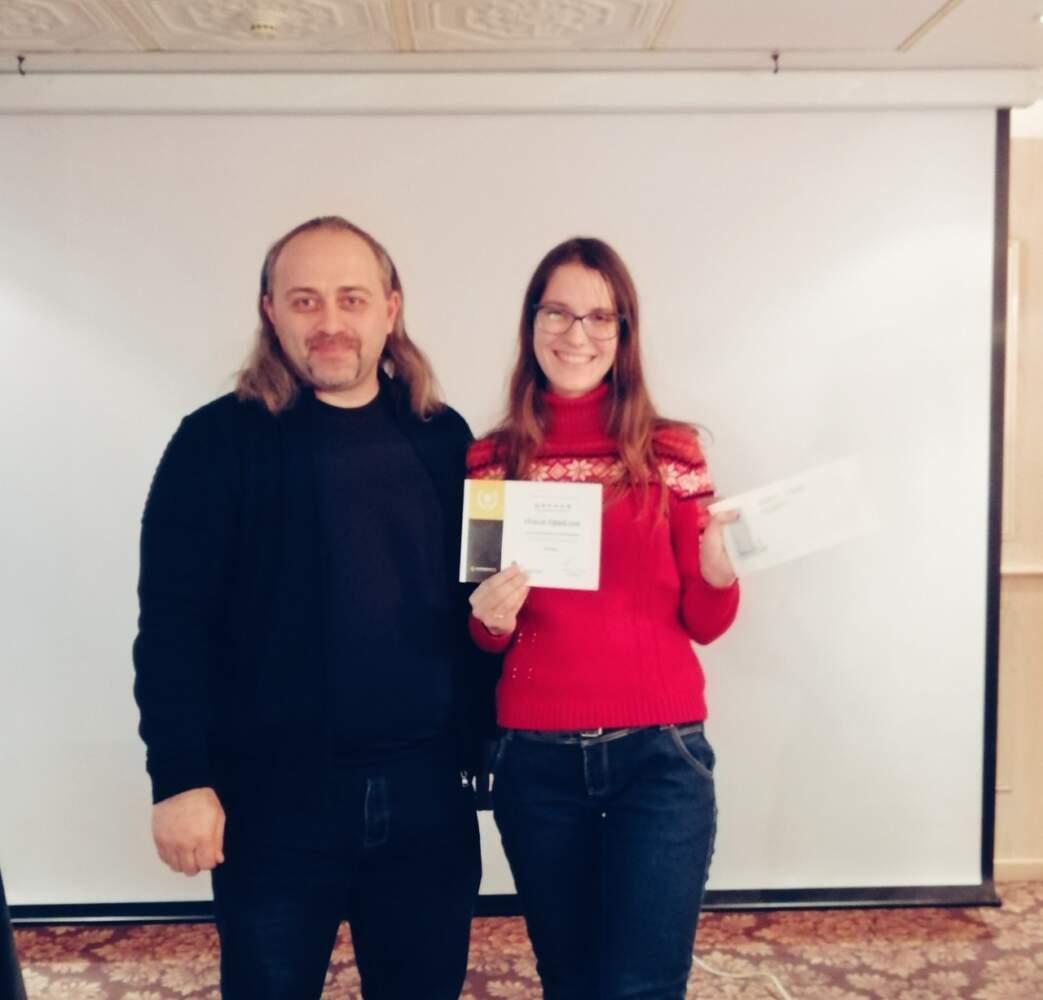 Студентка відділення журналістики увійшла до трійки переможців всеукраїнського конкурсу з фактчекінгу