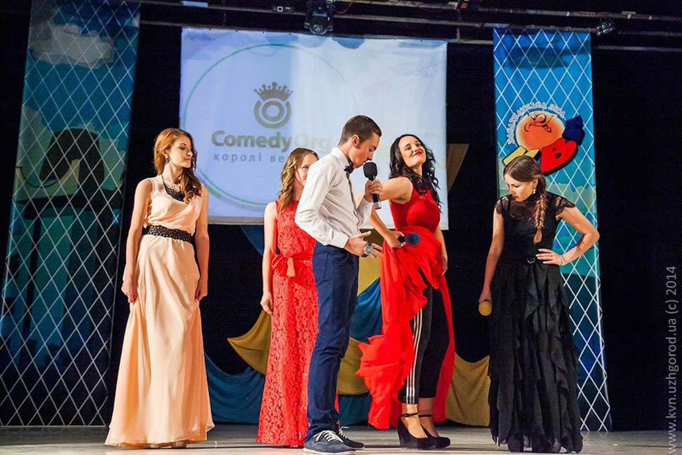 Кубок Закарпатської ліги КВН здобули студентки-журналістки