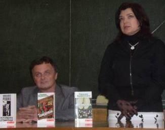 Андрій Курков – у гостях у філологів