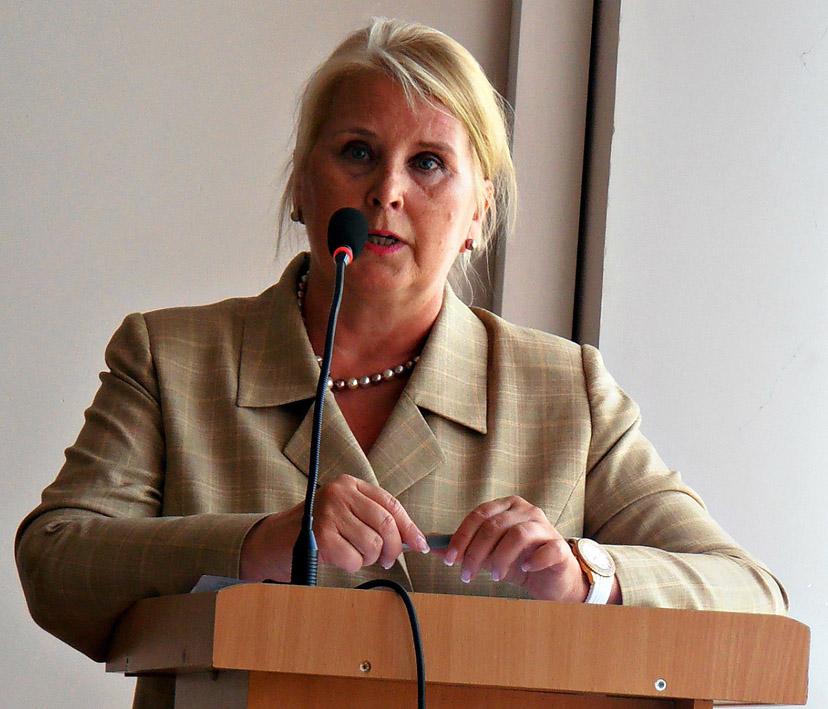 Посол Фінляндії в Україні прочитала лекцію для студентів УжНУ