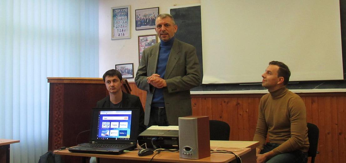 Студентам відділення журналістики розповіли про першу платформу публікацій «PenAll»